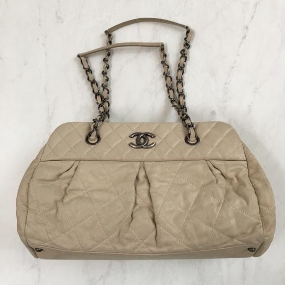 12163f242019 CHANEL Bags | Iridescent Calfskin Bowling Bag | Poshmark